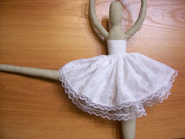 Тильда пышная юбка