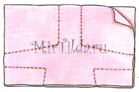 Заготовка свитера для мишки