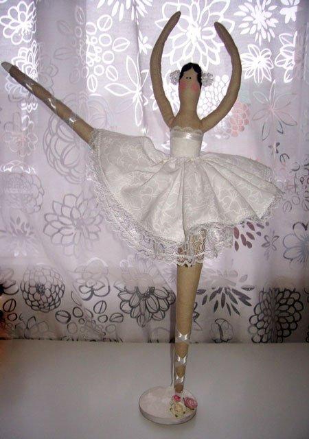 Тильда кукла балерина