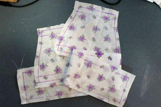 Переводим выкройку одежды на ткань