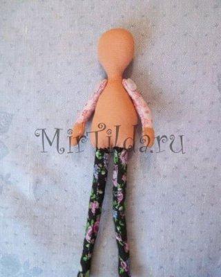 Тельце тильды куклы