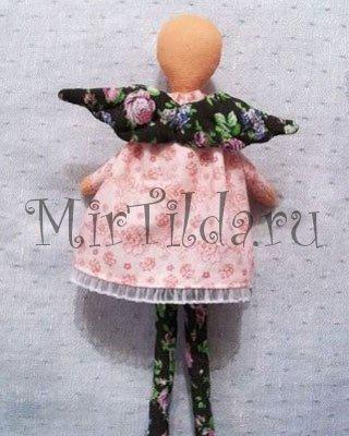 Платьеце для ангелочка тильда