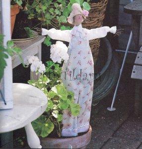 Кукла в горшочке