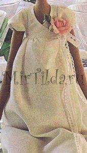 Платье куколки