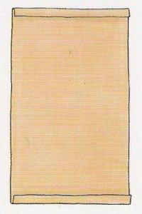 Кусок льняной ткани размером 21 х 14 см