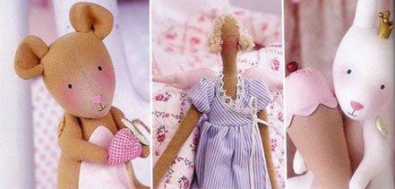 Популярные текстильные игрушки - тильды. Обсуждение на LiveInternet - Российский Сервис Онлайн-Дневников