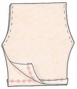 Заготовка штанов зайца