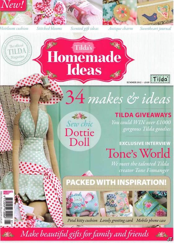Книга Homemade ideas - тильда идеи для вашего дома