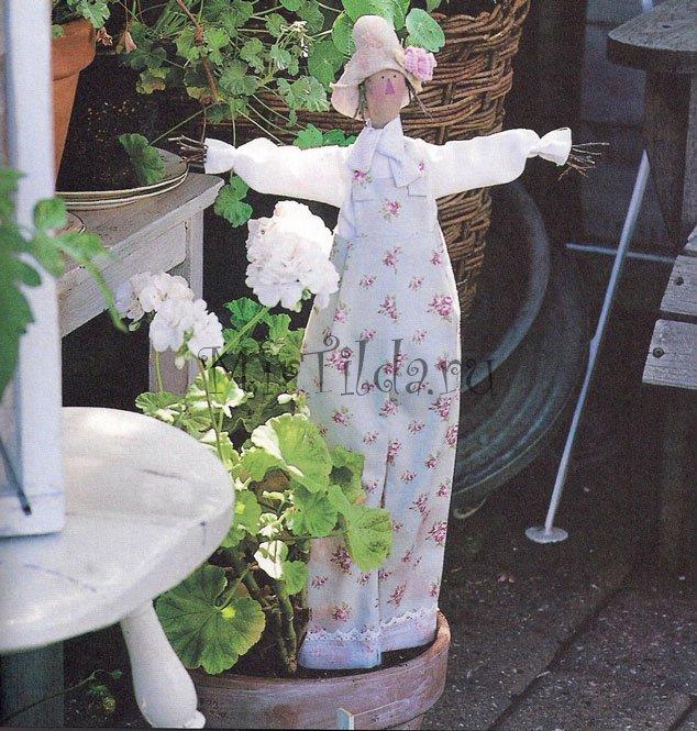 Выкройка лавандовый ангел