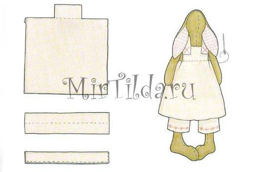 Платьеце для Зайки Тильды