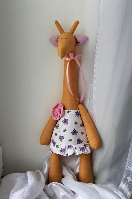 Одежда тильда жираф
