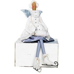 Ангел тильда на коньках