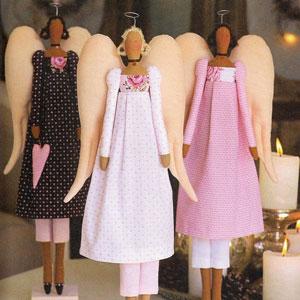 Винтажные ангелочки тильда