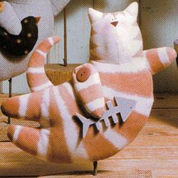 Летящий тильда кот