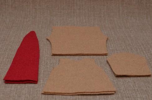 Вырезаем детали одежды