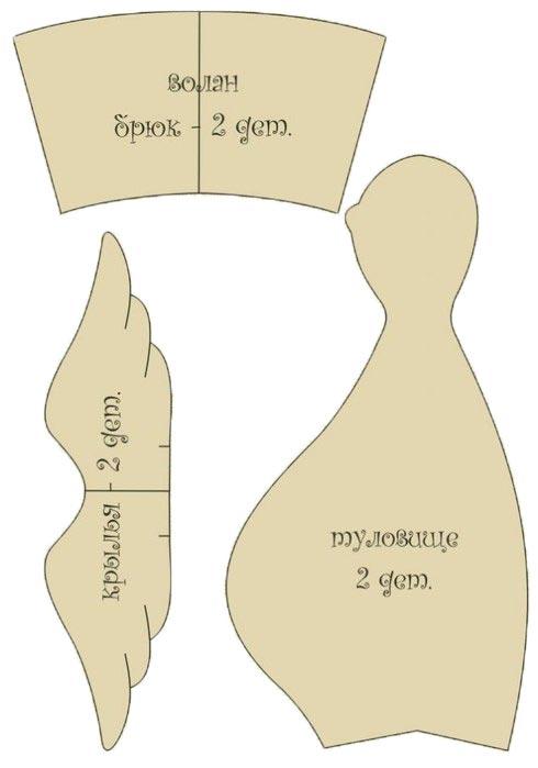 платье для беременной тильды выкройки