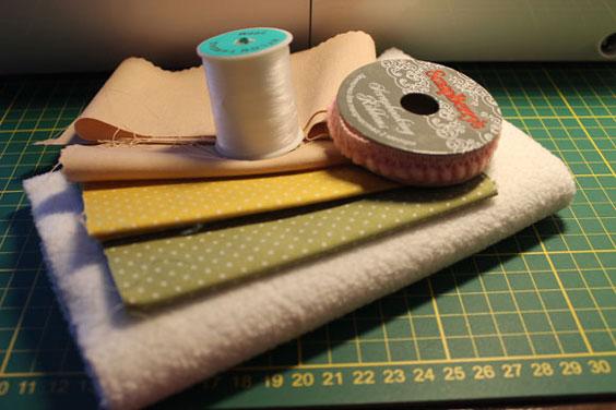 Материалы для шитья овечки тильда