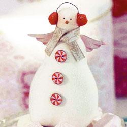 Тильда снеговик выкройка