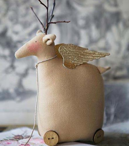 Тильда олень с крыльями
