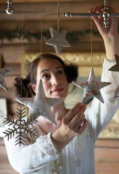 Тоне Финнангер украшает тильда звёздами дом