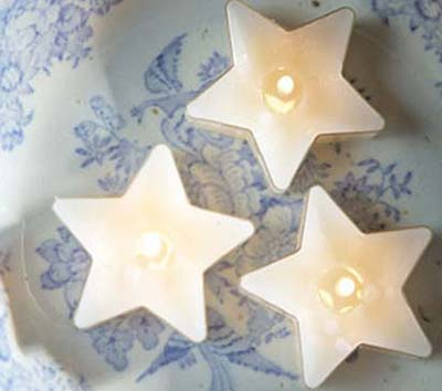 Звезды свечки