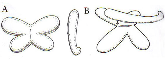 Тильда бабочка-стрекоза схема шитья