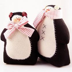 Пингвин тильда - выкройка