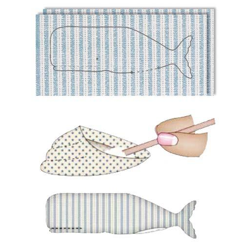 Схема шитья тильда кита