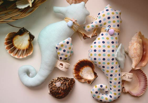 Морской конёк тильда