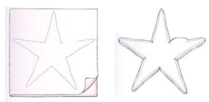 Морская звезда схема шитья