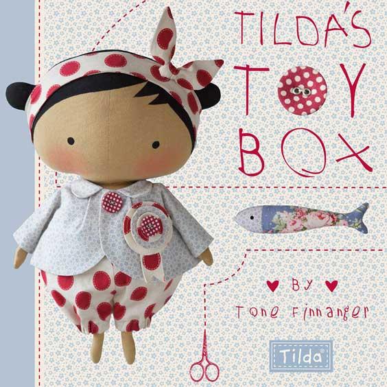 Tildas Toy Box - тильда книга 2015 года