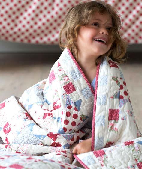 Tildas Toy Box лоскутные одеяла
