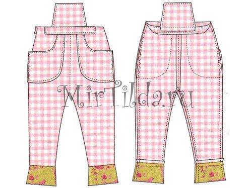 Пришиваем карманы штанов