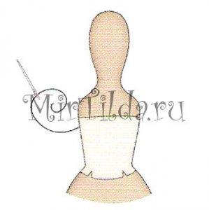 Пришиваем лиф платья