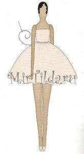 Пришиваем юбку платья