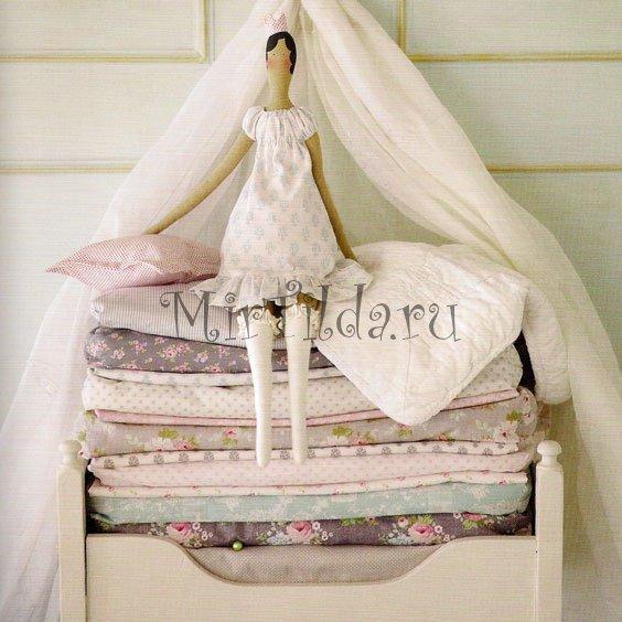 Кукла тильда - принцесса