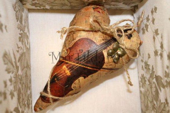 Винтажное тильда сердце