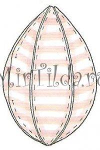 как сшить яйца тильды