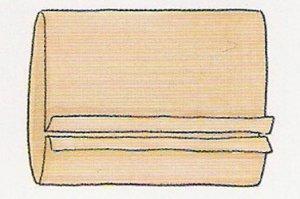 Согнуть ткань как показано на картинке