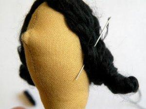 Фиксируем волосы с боков